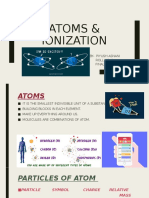 ATOMS & IONIZATION 2