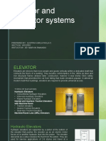 ELEVATOR AND ESCALATOR