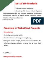 3. Robotics & FMS, III-Module PPTs