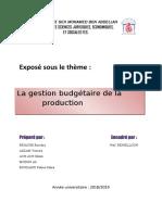 Gestion budgétaire de la production.docx