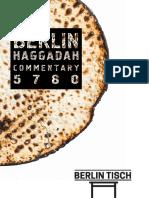 Berliner Haggadah Commentary (2020)