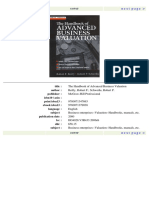 Robert F. Reilly - The Handbook of Advanced Business Valuation (Irwin Library of Investment & Finance)-McGraw-Hill (1999).pdf