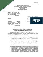 Answer with Affirmative Defense, Counterclaim and Cross-claim_Limpangug.pdf