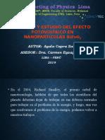 SINTESIS Y ESTUDIO DEL EFECTO FOTOVOLTAICO EN NANOPARTICULAS BiFeO3