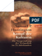 (ebook - german) Samuel P. Huntington - Kampf der Kulturen (1998).pdf