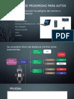Sensor de proximidad para autos
