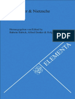 Babette Babich, Alfred Denker, Holger Zaborowski - Heidegger & Nietzsche