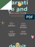 narrative and recount text