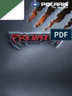 Predator 500 Full Service Manual