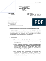 KAF LAW FIRM - written interrogatories