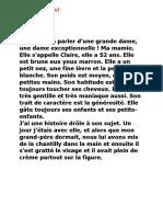 6- Trois supports - Texte descriptif - Conte - Chanson