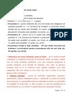 Cerințe Proiect Mare MK SP 019020