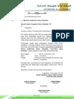 Surat Peminjaman Kahar