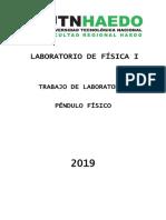 tp 12 Pendulo Fisico 2019