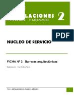 Núcleo de servicio 2 - Barreras arquitectónicas