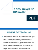 IPUFU31702 (3)(10) – Higiene e Segurança No Trabalho