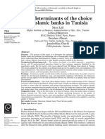 9. The Determinants of the choice of Islamic Banks inTunisia - QUAN METHOD-.pdf
