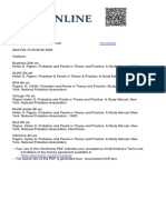 Probation and Parole in Theory and Practice