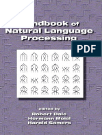 Dale R., Moisl H., Somers H. (eds.) - Handbook of Natural Language Processing