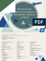 Book Panorama das Agências de Viagens e Operadores Turísticos no Brasil