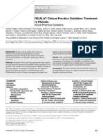 Clinical Practice Guideline Treatment of Idiopathic Pulmonary Fibrosis