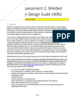 Assessment 2 - Weld Group Design Audit Outline