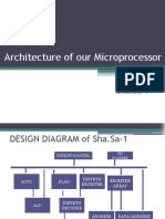 Architecture of Sha.sa-1 Microprocessor