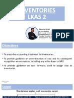 LKAS 2 / IAS 2 - Inventories