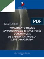 Artrosis de cadera y rodilla, tto médico