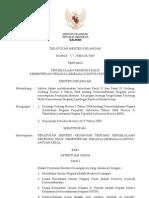Peraturan Menteri Keuangan Nomor 57-Pmk.05-2007 Tentang Pengelolaan Rekening Milik Kementerian Negaralembagakantorsatuan Kerja