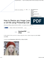 How to Resize any Image Less than 10 KB or 20 KB using Photoshop Cs6 - UandBlog.pdf