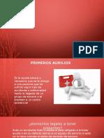 PRIMEROS AUXILIOS ELEMENTALES