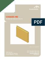 COQUES MD技术指南 Guide de Mise en Œuvre单板