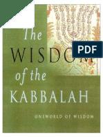 (Oneworld of Wisdom) Dan Cohn-Sherbok-The Wisdom of the Kabbalah-Oneworld (2002)