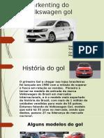 Markenting do Volkswagen gol 2