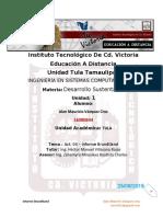 UNIDAD 1 - Act. 04 - Desarrollo Sustentable - Informe De Brundtland - Alan Mauricio Vázquez Cruz.docx
