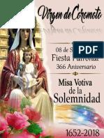 Misa Votiva de Nuestra Señora de Coromoto