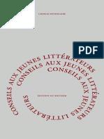 Baudelaire, Charles - Conseils Aux Jeunes Littérateurs
