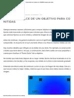 El punto dulce de un objetivo.pdf