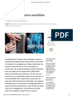 Pandemia y datos sensibles – CIPER Chile