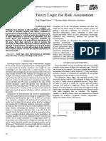 [22559094 - Information Technology and Management Science] Application of Fuzzy Logic for Risk Assessment_ Izplūdušās loģikas pielietojums risku analīzē_ Применение нечеткой логики для ан