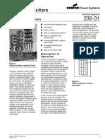 Bancos de Capacitores Fuseless 230-31