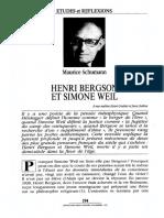 Bergson et Simone Weil