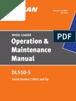Doosan DL550- OMM