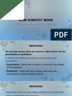 How Scientist Work (PDF)