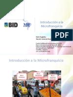 Introducción a la microfranquicia
