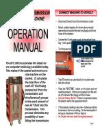 ATS 300 operators manuaL