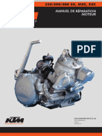 KTM Moteur 250 380EXC 03 Francais