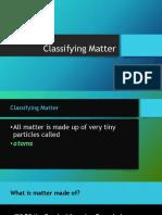 Classifying Matter (PDF)