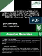 Impacto ambiental en la industria azucarera